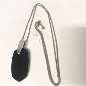 Kendra Scott - Inez Silver and Black Necklace
